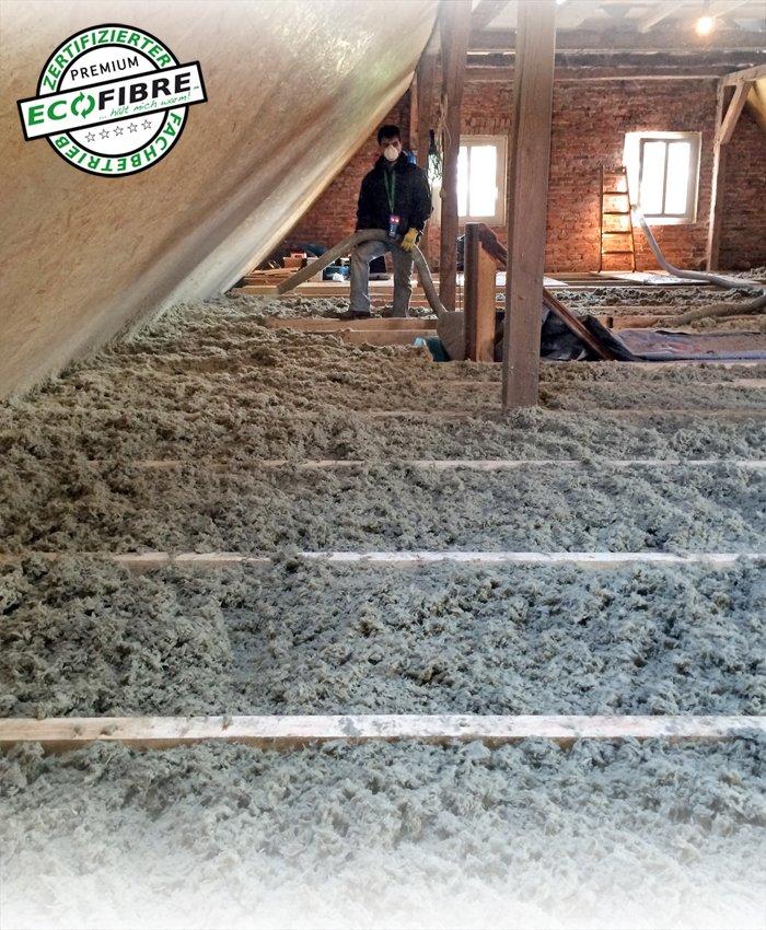 Einblasdämmung Bremen Dachboden